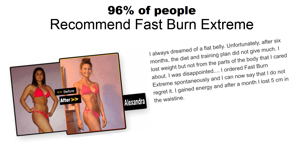 Fast Burn Extreme Customer Reviews